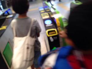 161014出稽古 四ッ谷駅