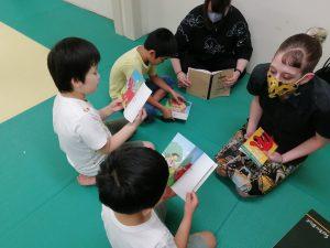 英語の絵本 読む練習