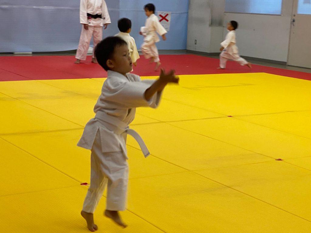 港南道場 幼児クラス スキップ練習