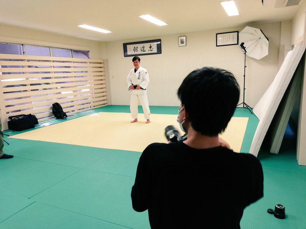 近代柔道の撮影